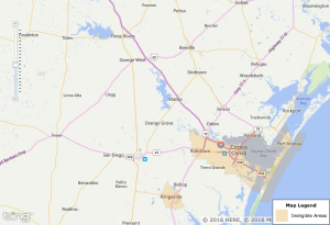 Corpus Christi Texas USDA Eligibility Map