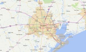 Houston Texas USDA Loan Map