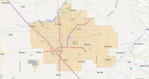 Fresno California USDA Maps - 2
