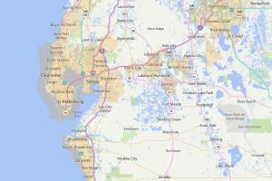 Tampa Florida USDA Loan Map