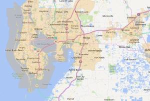 Tampa Florida USDA Loan Map - 2