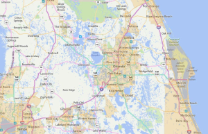 Orlando Florida USDA Loan Map - 2