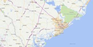 Charleston, SC USDA Loan Map