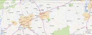 Spartanburg South Carolina USDA Loan Map