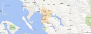 Bellingham Washington USDA Loan Map