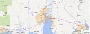 Mobile Alabama USDA Loan Map - 2