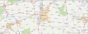 Charlotte NC USDA Loan Map