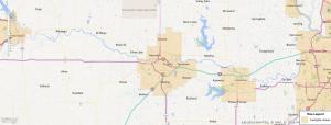 Topeka Kansas USDA Loan Map