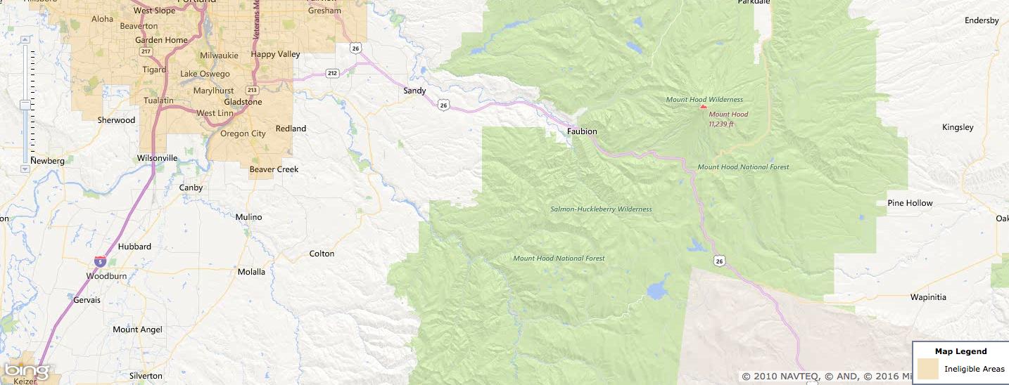 Usda Rural Development Loan Clackamas County Or Usa Home Financing