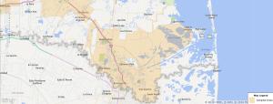Brownsville Texas USDA Loan Map